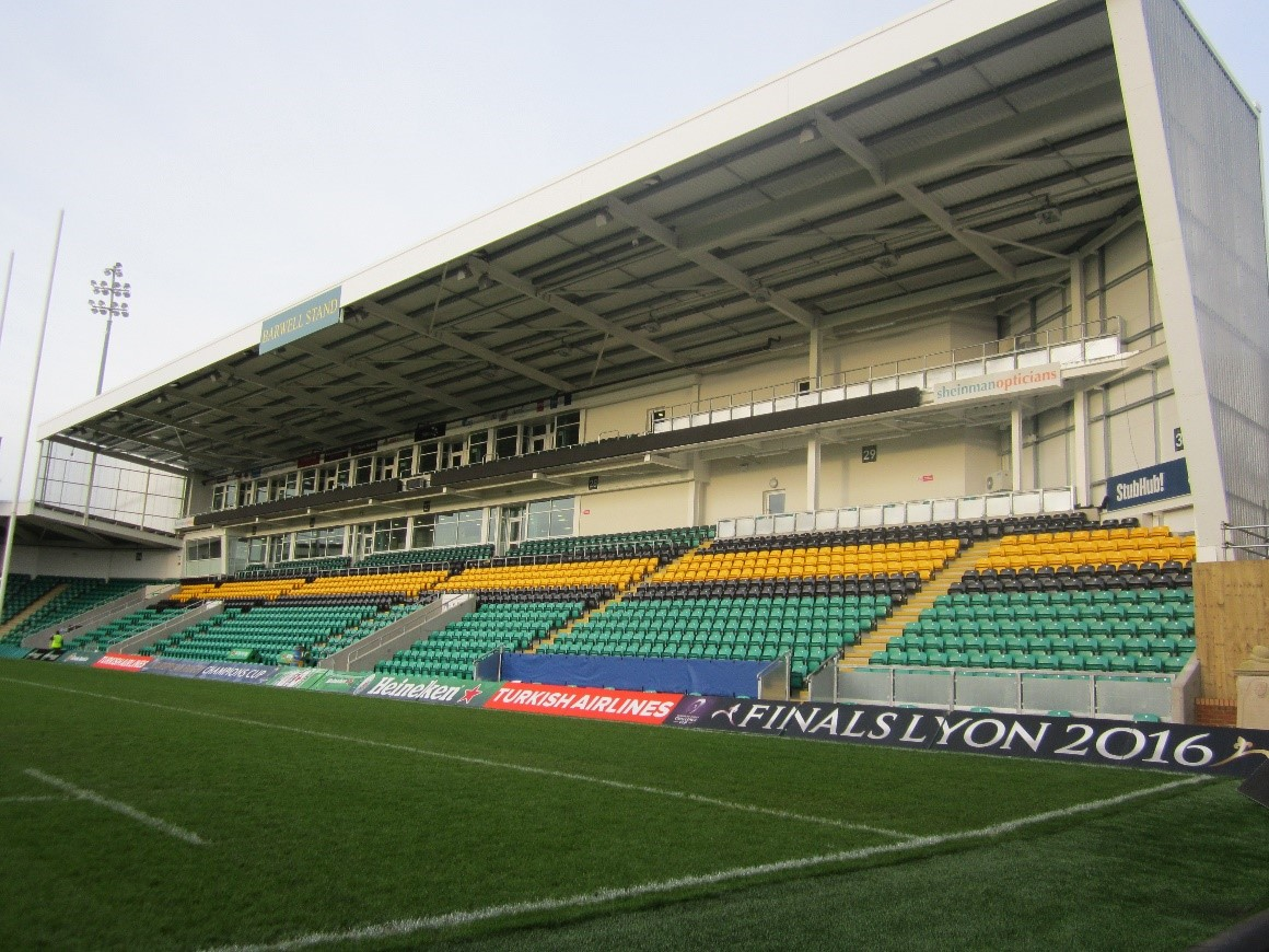 Barwell stand northampton saints envision envision in conjunction with blueprint building services solutions undertook the design for the mechanical and electrical services for the new barwell malvernweather Image collections