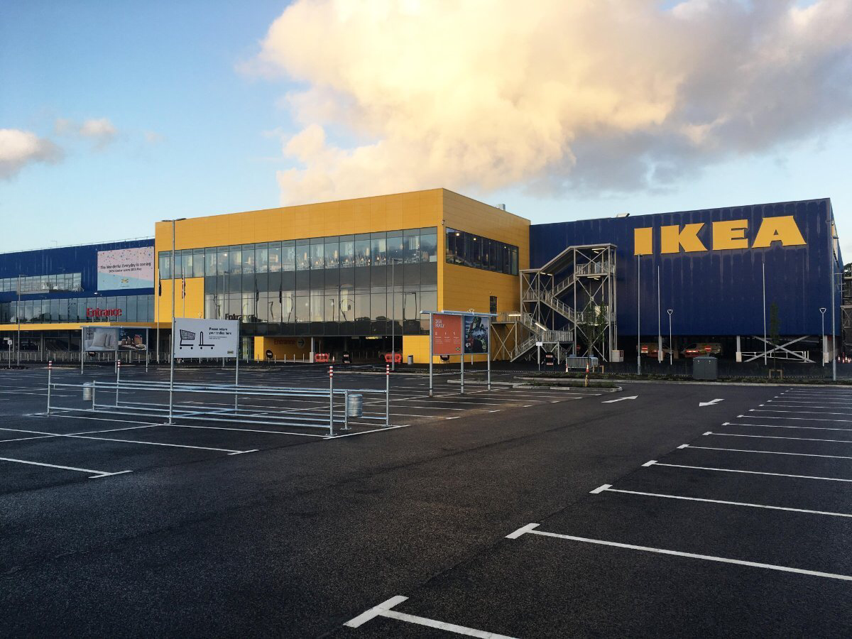 Ikea Exeter Achieves The Highest Breeam Rating Yet For A Uk Store Envision